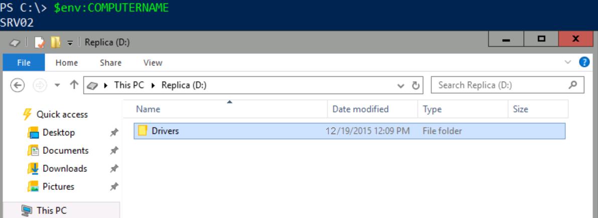 How to Configure Storage Replication using Windows Server 2016