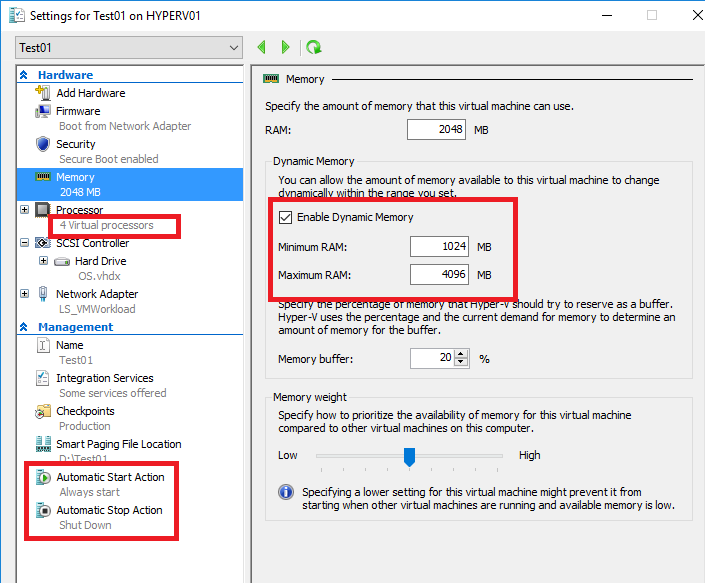 Automate the Hyper-V Virtual Machine deployment with