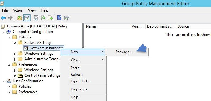 Deploy MSI package to group of computers in your domain | StarWind Blog