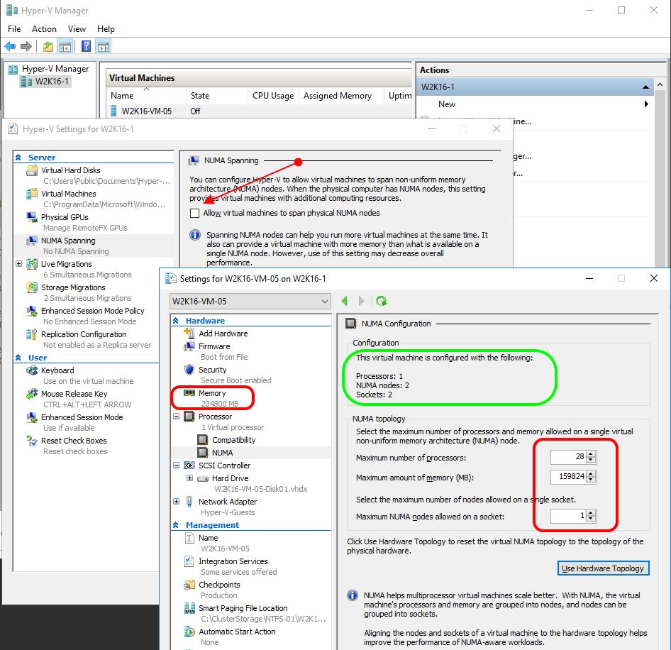 A closer look at NUMA Spanning and virtual NUMA settings | StarWind Blog