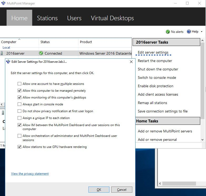 How To Install Microsoft MultiPoint Service On Windows Server 2016