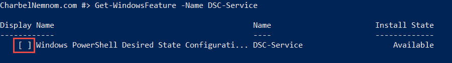 PowerShell command