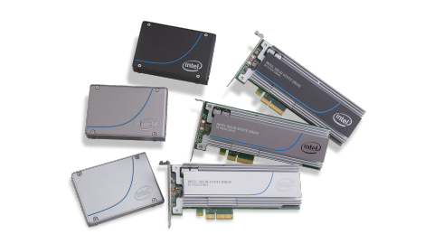 NVME SSDs Courtsey of Intel ®