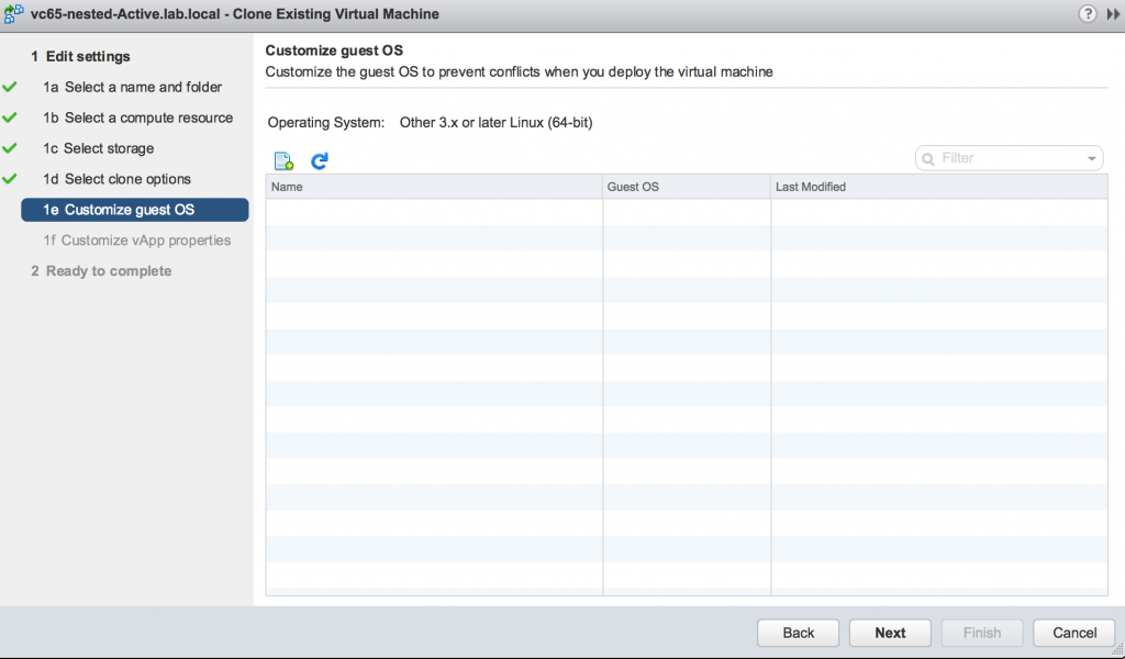 Clone Exisiting Virtual Machine
