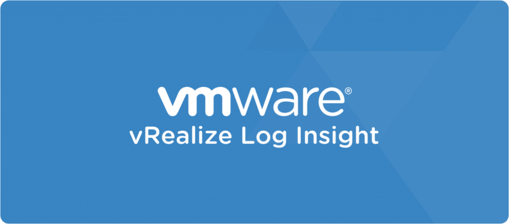 VMware vRealize Log Insight