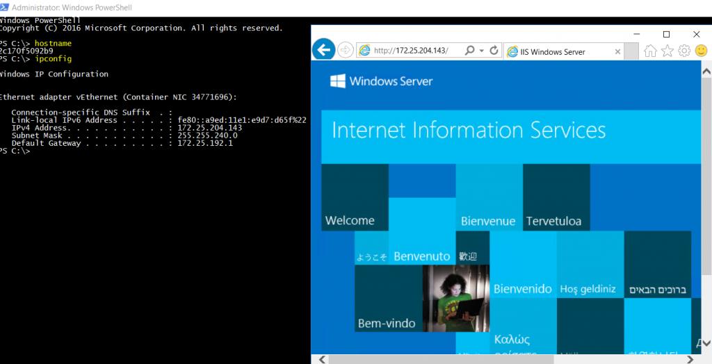 Windows PowerShell view