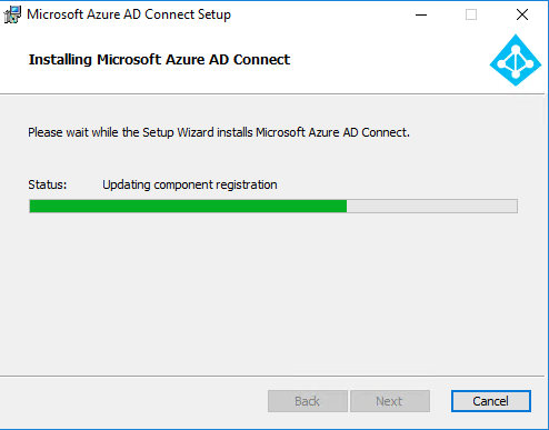 Microsoft Azure AD Connect Setup view