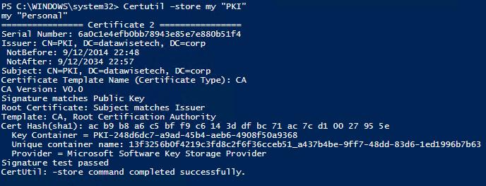 Windows PowerShell command