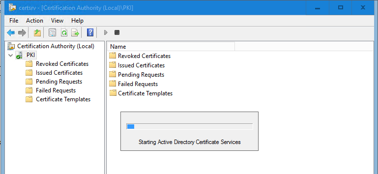 Active Directory Certificate Services