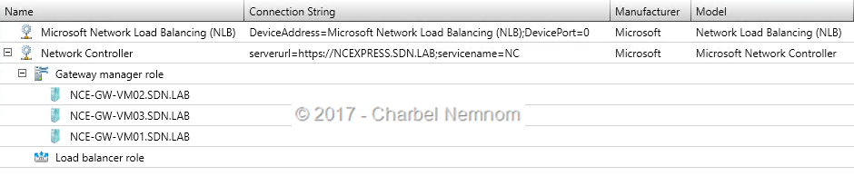 Network Controller as new Network Service in VMM