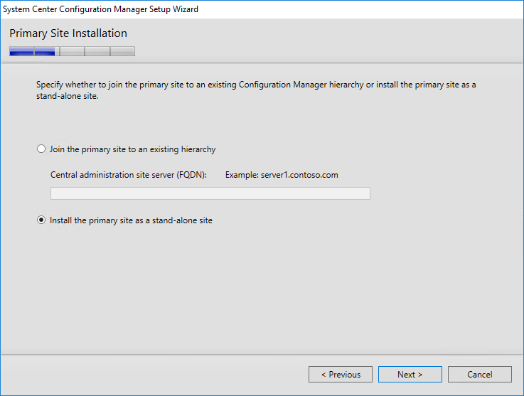 Installing System Center Configuration Manager 1610 (Current