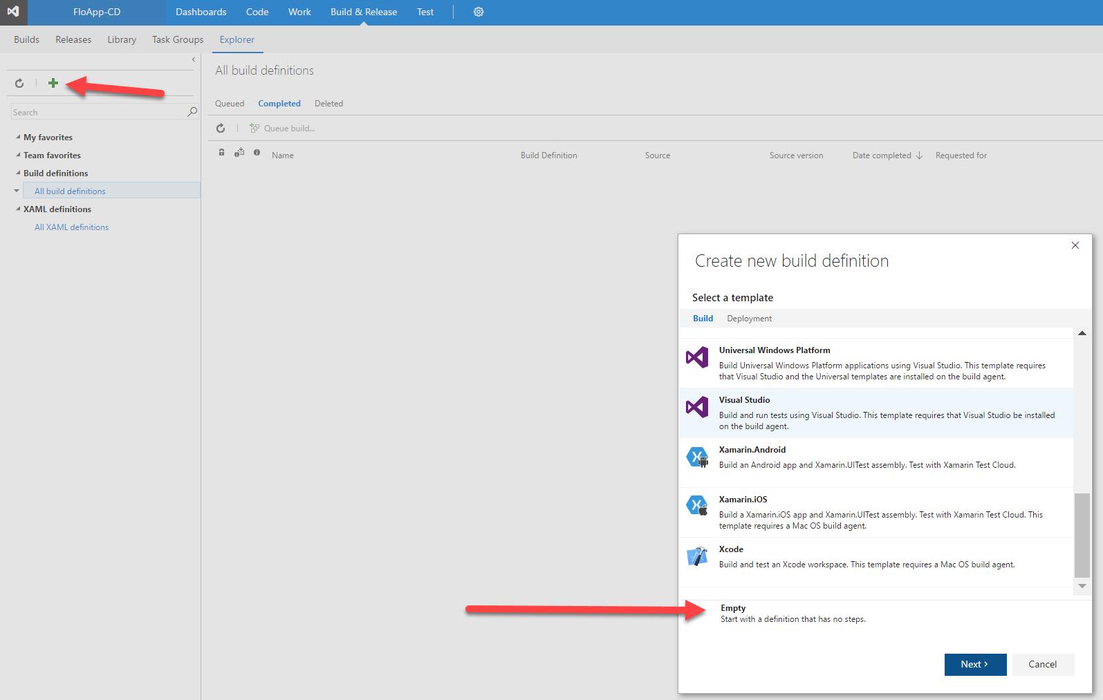 Azure] Continuous Integration / Continuous Deployment with Docker