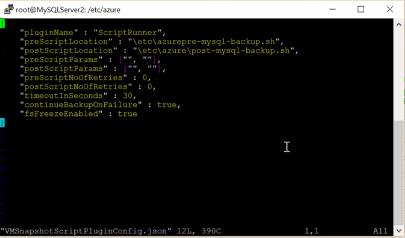 root of MySQL Server azure