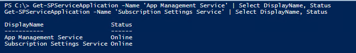 Sharepoint Service Application PowerShell script