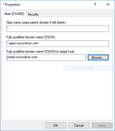SharePoint 2016 server properties