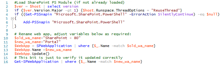 Load Sharepoint PowerShell Module