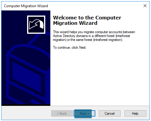 Computer migration wizard