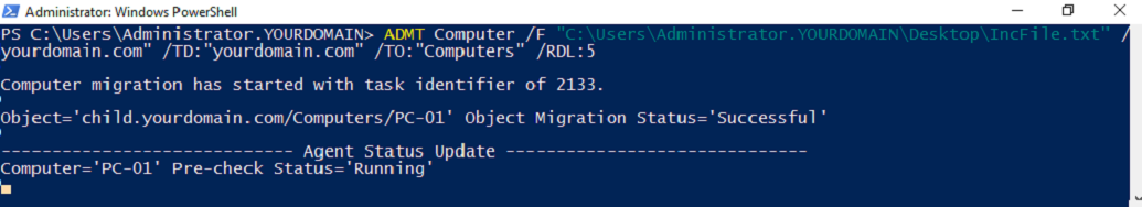 Intraforest Migration in Windows Server 2016 with Active Directory