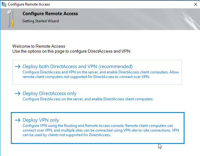 How to install VPN access on Windows Server 2016 | StarWind Blog