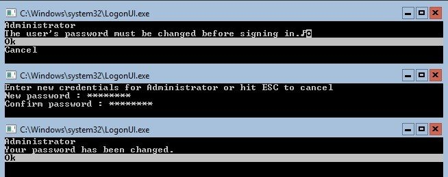 Creating login credentials