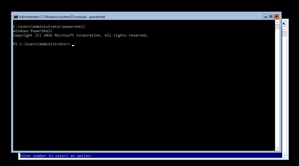 add the file server feature PowerShell command