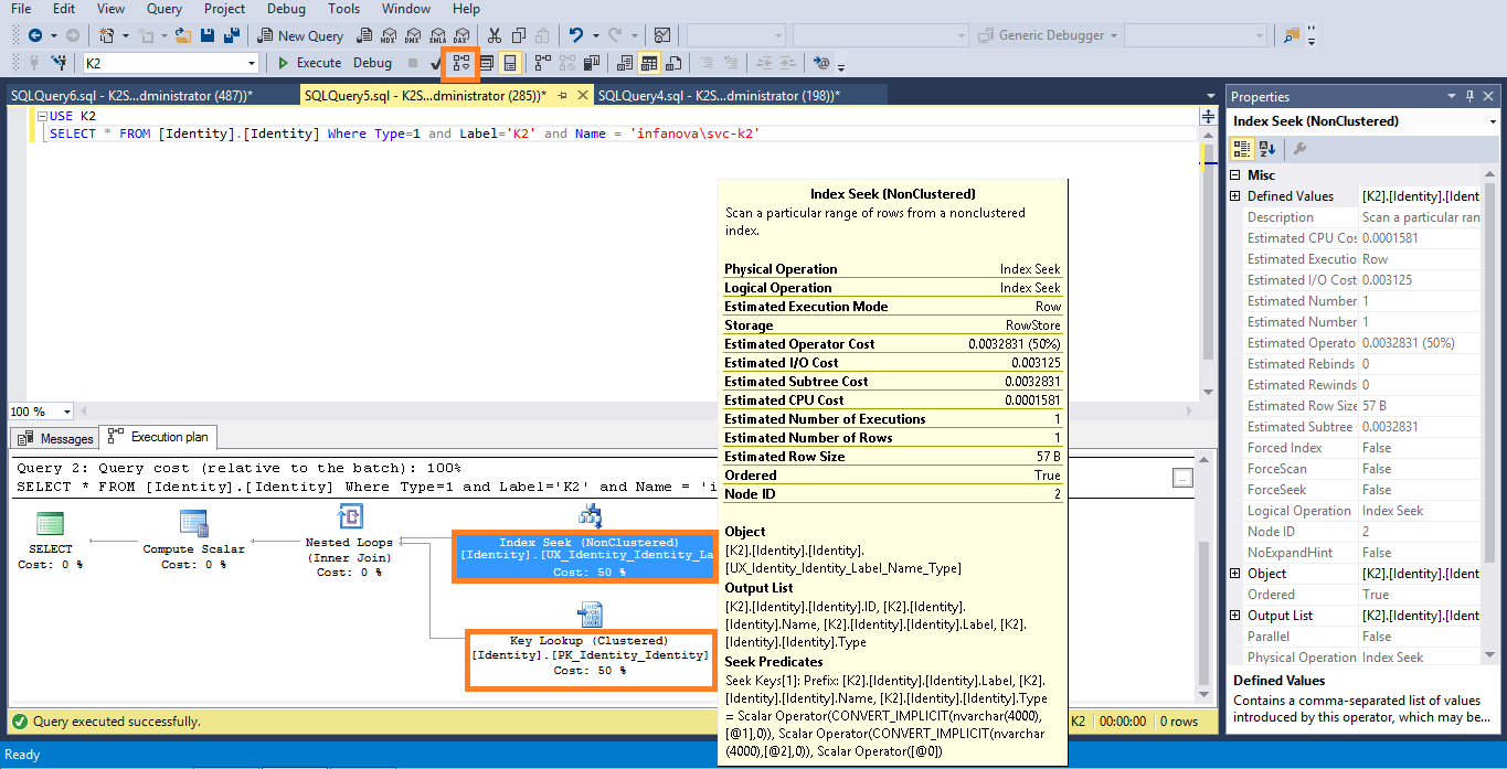 Sql indexes 101 starwind blog - How to find a table in sql server management studio ...