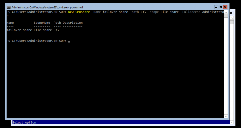 PowerShell command view