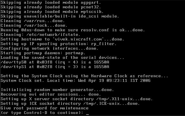 Linux VMs restart