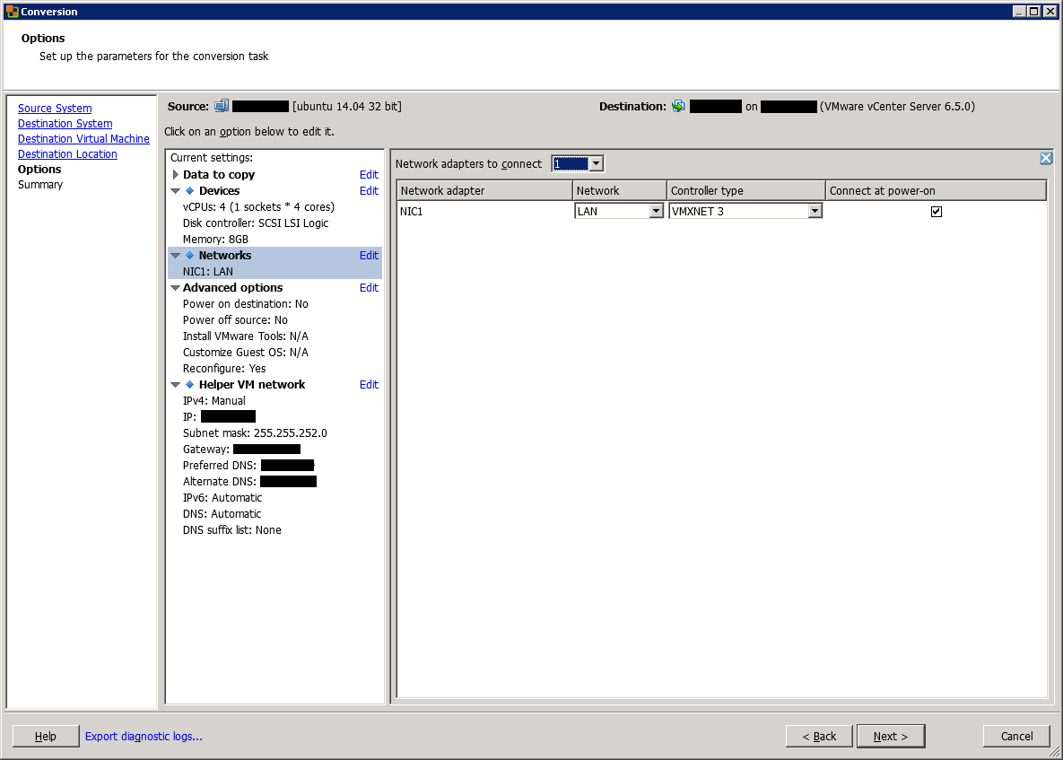 Convert a physical Linux server to VMware VM | StarWind Blog