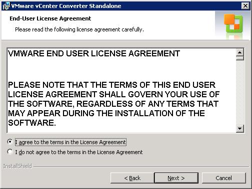 Convert Physical Linux Server to VMware - P2V Vmware