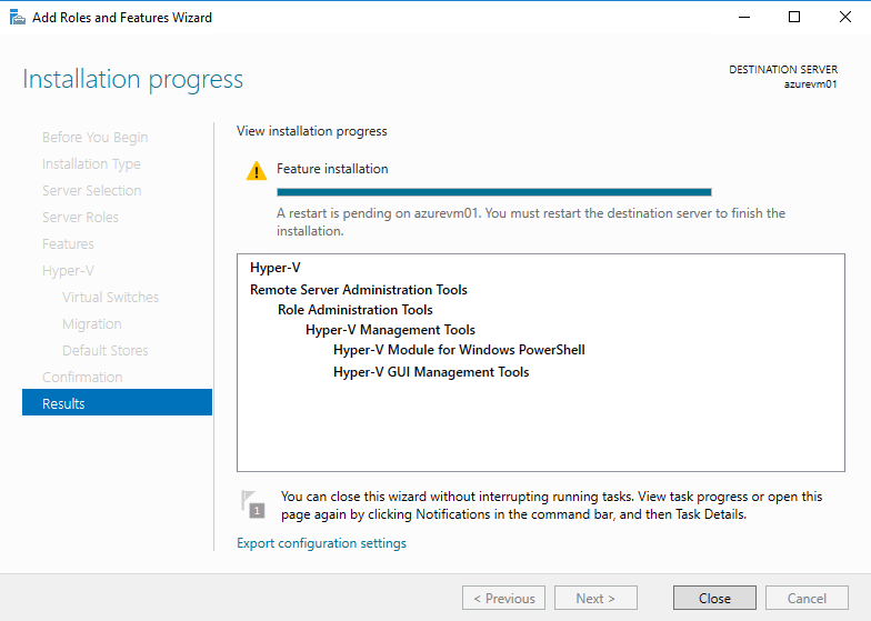Nested Virtualization in Azure with StarWind Virtual SAN