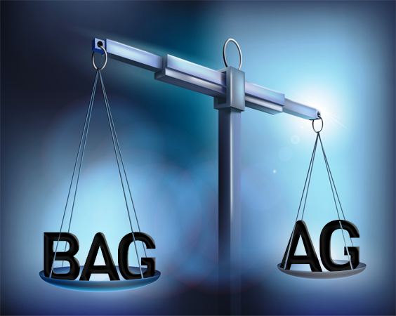 BAG vs AG