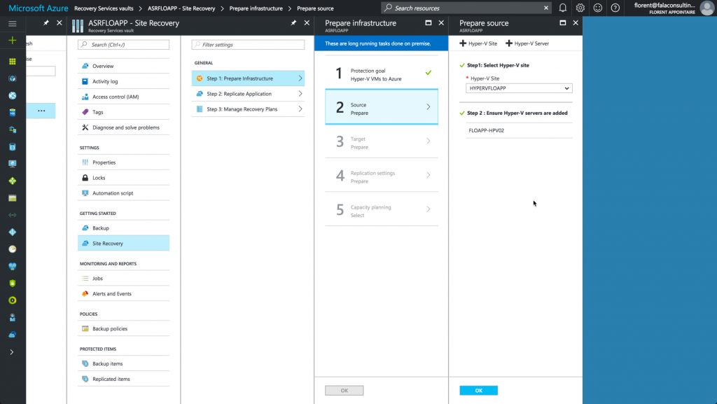 Hyper-V VMs in the Azure console