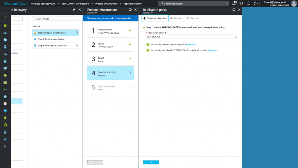 Replication Policy in Microsoft Azure ARM