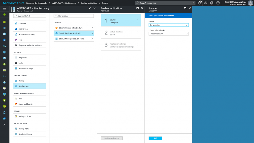 replicate VMs and Applications in ARM