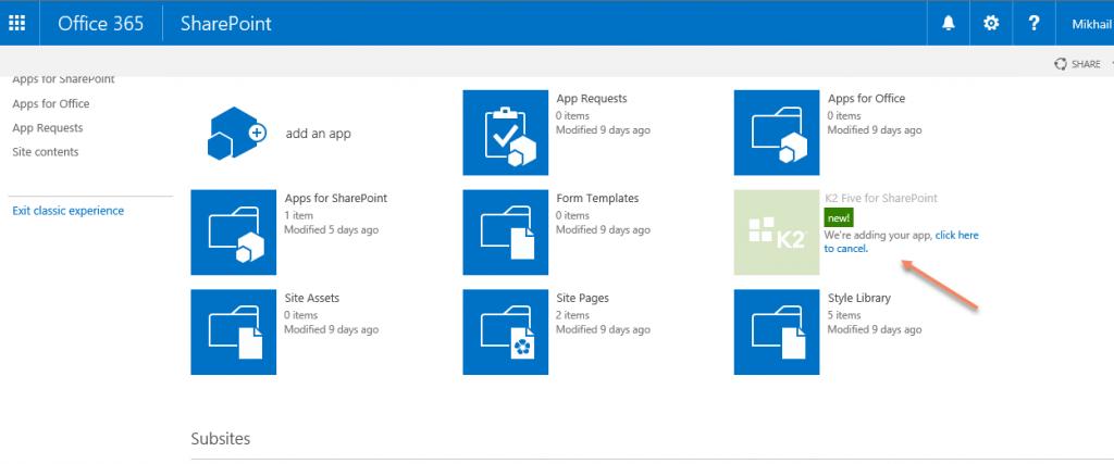 SharePoint App Catalog