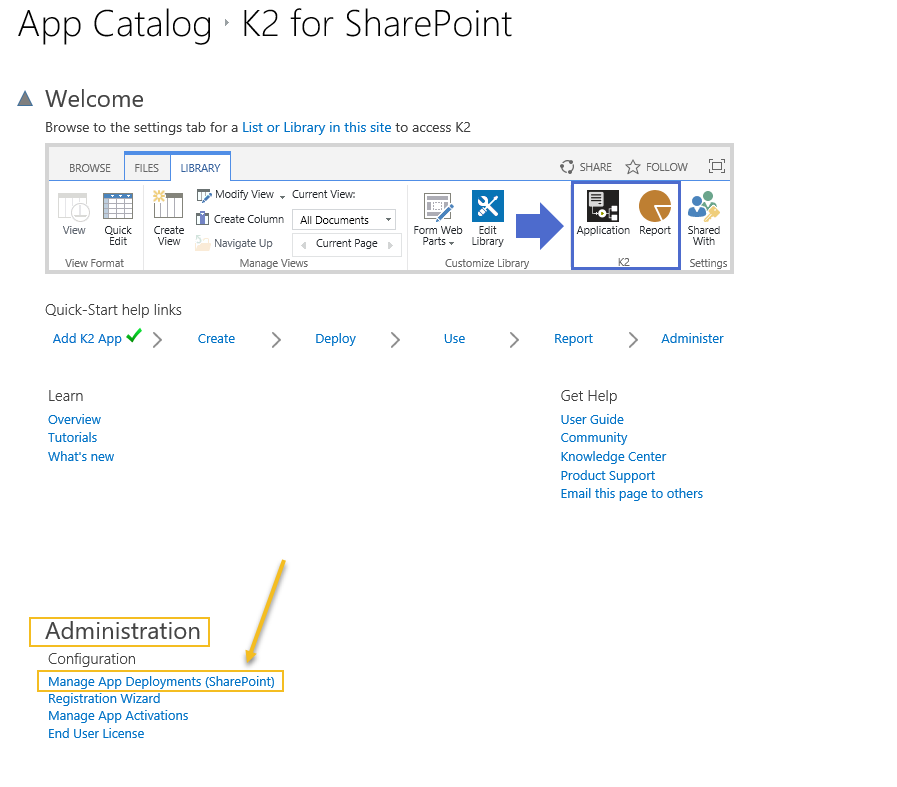 Manage App Deployments in SharePoint