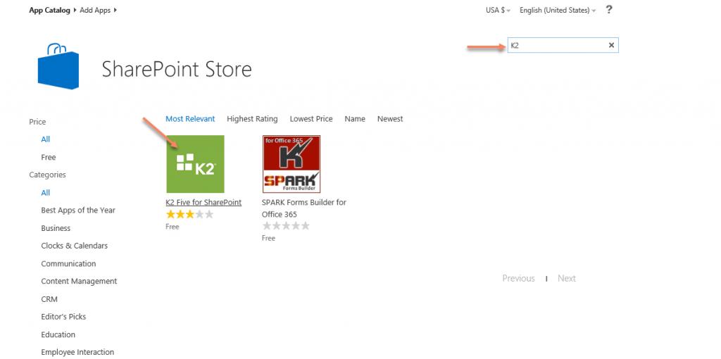 SharePoint Store