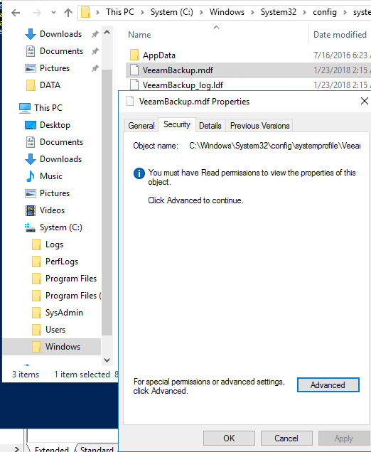 replacing a Veeam Agent for Windows Server while preserving existing local backups - new version copies