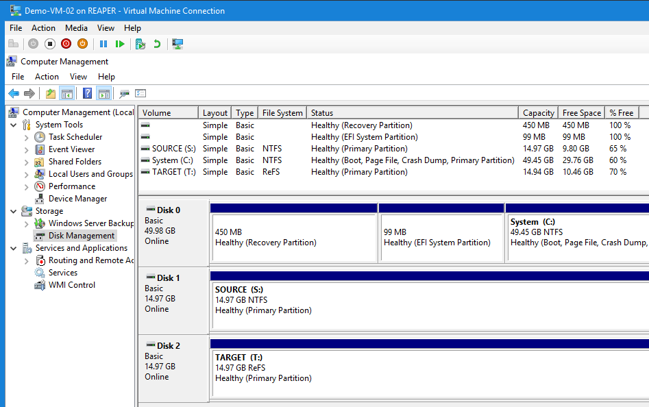 replacing a Veeam Agent for Windows Server while preserving existing local backups - Virtual Mashine conection