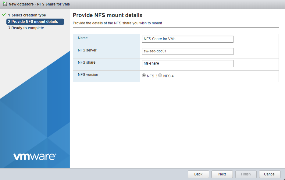 Creating ESXi VMs on the Windows based NFS share | StarWind Blog