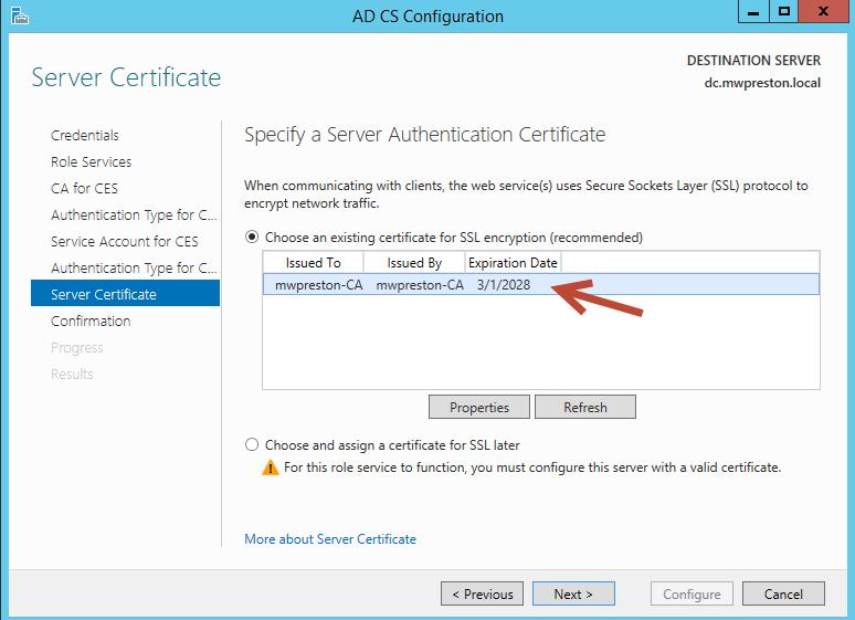 ServerCertificate