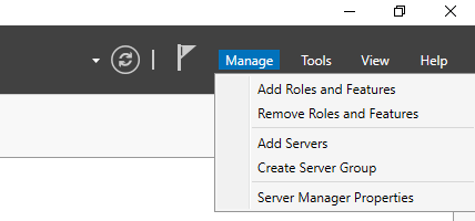 Adding the Failover Clustering role via Server Manager