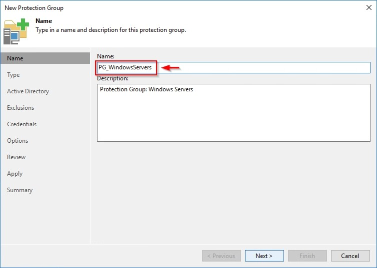 Veeam Backup & Replication 9 5 – Protection Groups