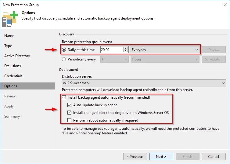 Veeam Backup & Replication 9 5 – Protection Groups | StarWind Blog