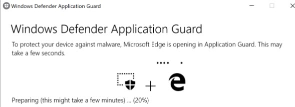 Windows Defender Application Guard Preparation