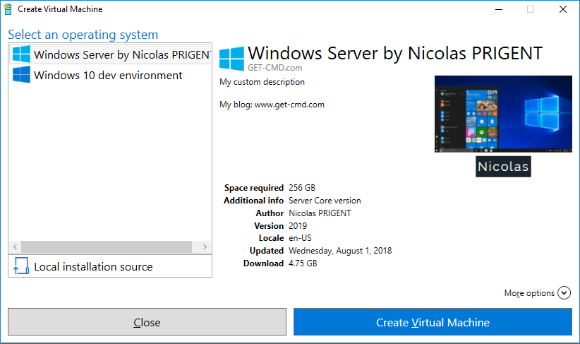 Creating Custom Hyper-V Gallery | StarWind Blog