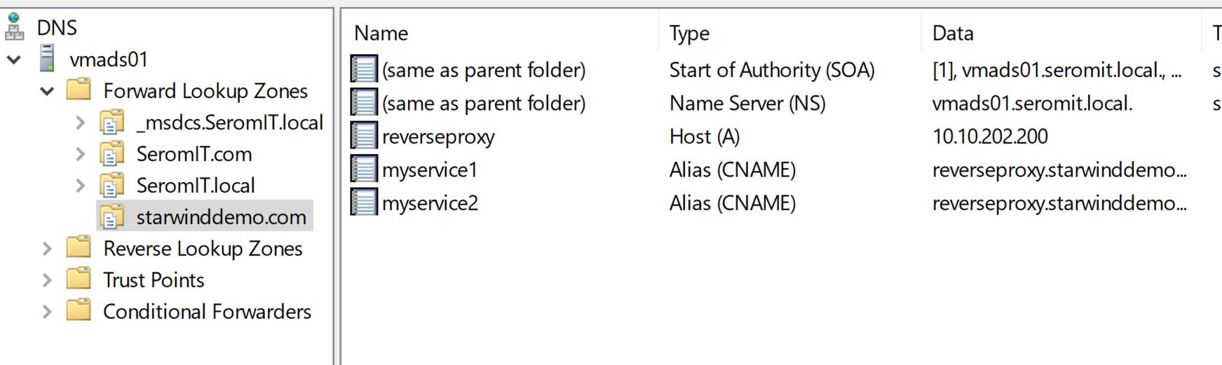 Kemp LoadMaster - DNS Configuration