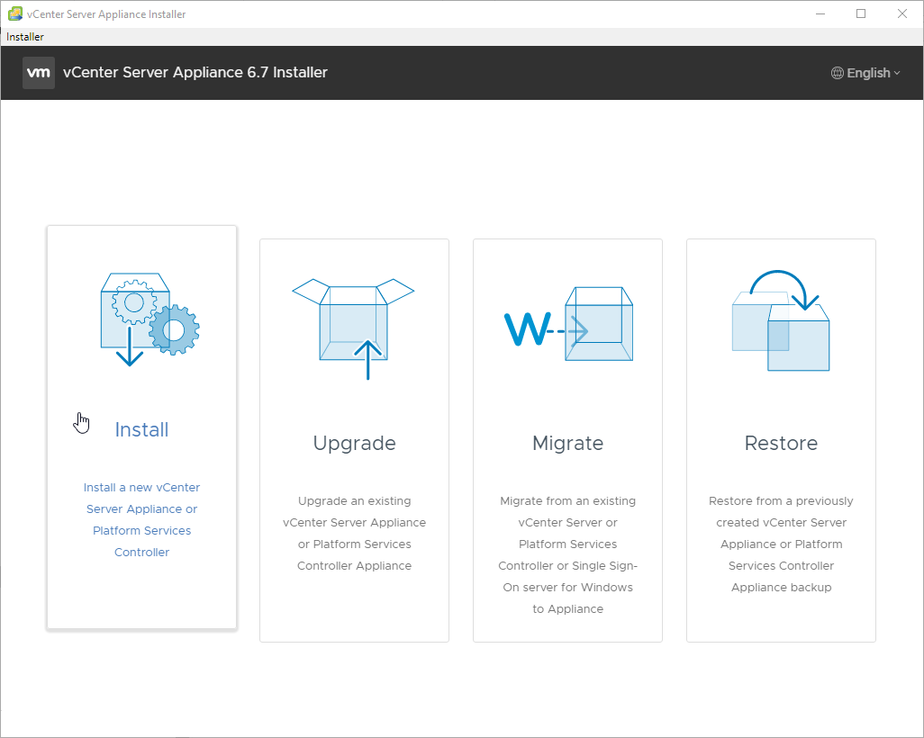 vCenter Server Appliance 6 7 U1 Installation and configuration Guide