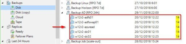 Veeam: re-map MoRef ID of protected VMs when replacing the